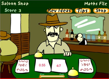 Saloon Snap - (BBC - Maths File)