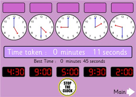 Telling Time Resources and Games for Teachers and Kids «