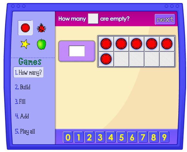 Ten Frame - Illuminations - Maths Zone Cool Learning Games