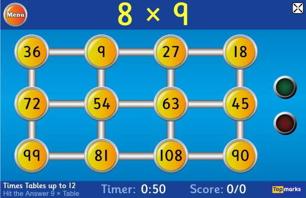 topmarks problem solving games ks2