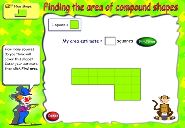 Find compound area