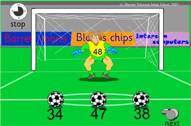 Image result for 10 less football game ict games