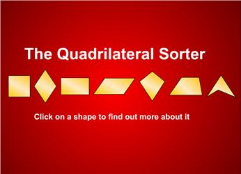 Shape archives maths zone cool learning games the quadrilateral sorter david hellam ccuart Image collections