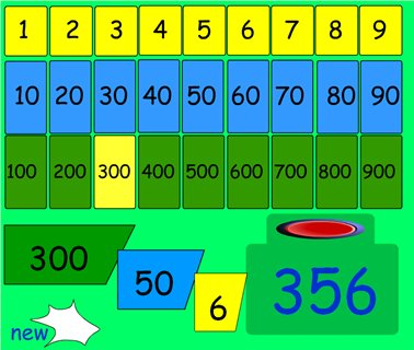 place value partitioning archives maths zone cool learning games