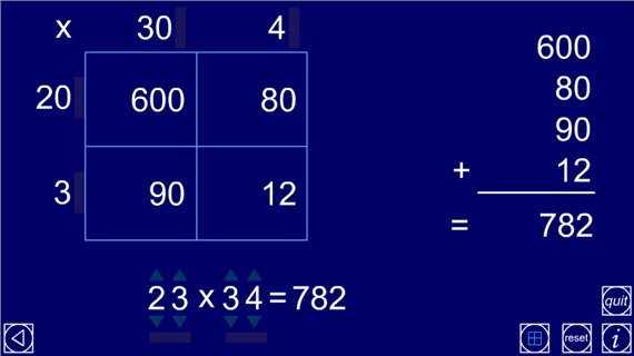 Grid multiplication NNS ITP Maths Zone Cool Learning Games – Multiplying Decimals Grid Method Worksheet