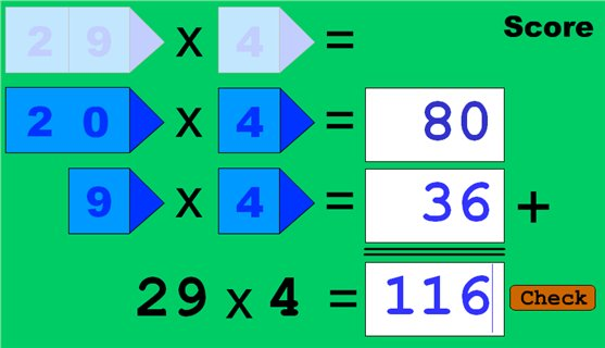 multiplication x