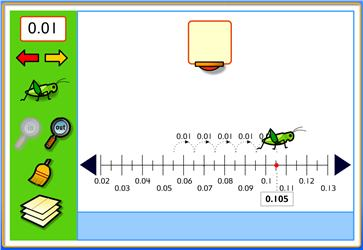Numberline including Decimals - Eduplace - Maths Zone Cool Learning ...