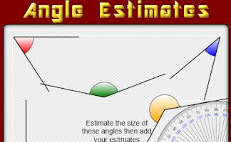 angle estimates
