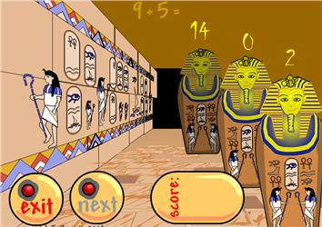 Funky Mummy ICT Games Maths Zone Cool Learning Games